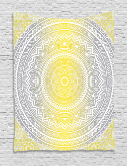 Pale Colored Ombre Tapestry