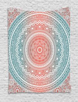 Antique Mandala Tapestry