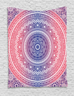 Ombre Mandala Tapestry