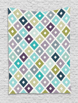 Geometrical Triangles Tapestry