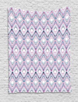 Abstract Tribal Pattern Tapestry