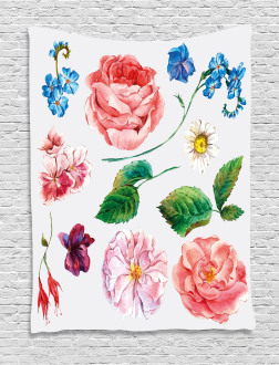 Bouquet Set with Rose Tapestry