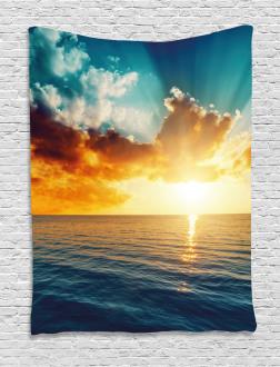 Magical Horizon Panorama Tapestry