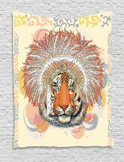 Africa Safari Wild Tiger Tapestry