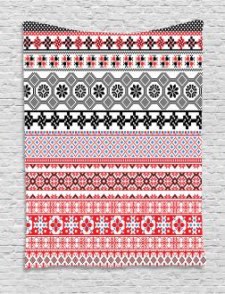 Ethnic Aztec Pattern Tapestry