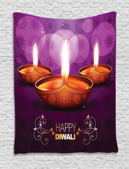 Diwali Religious Festive Tapestry