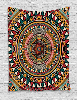 African Ethnic Color Art Tapestry
