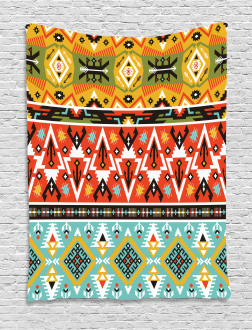 Love and Adventure Aztec Tapestry