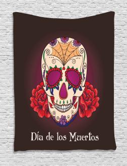 Dia de Los Muertos Tapestry