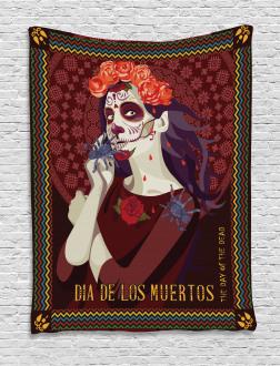 Spanish Festive Art Tapestry
