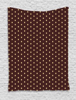 Old Fashion Retro Dots Tapestry