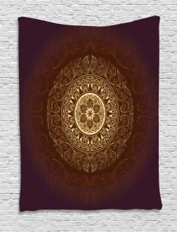 Asia Spiritiual Culture Tapestry