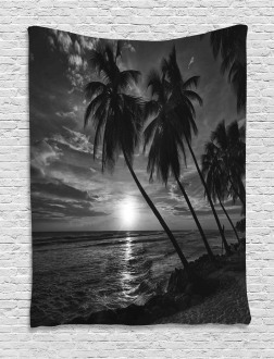 Horizon over Sea Picture Tapestry