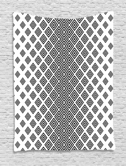 Square Shape Geometric Tapestry