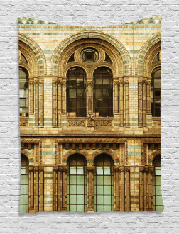 European City Building Tapestry