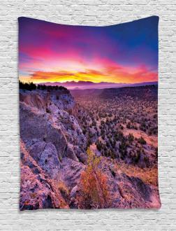 Sunrise Sky Horizon Dusk Tapestry