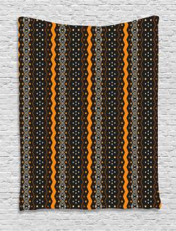Folk Native American Tapestry