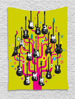 Guitars for Rock Stars Tapestry