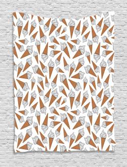 Yummy Desert Gelato Tapestry
