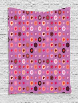 Valentine Romance Love Tapestry