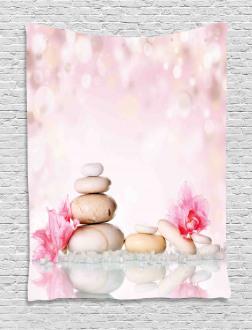 Bohemian Chakra Zen Stones Tapestry