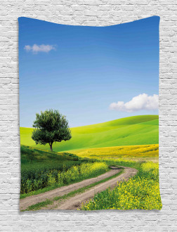 Rural Country Scenery Tapestry