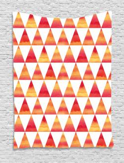 Triangle Geometric Art Tapestry