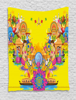 Summer Fan Cooler Tapestry