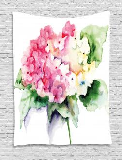 Hydrangea Flower Bouquet Tapestry