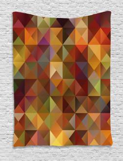 Grid Mosaic Geometric Tapestry