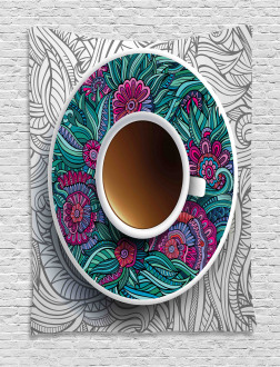 Coffee and Herbal Tea Tapestry