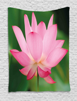 Lotus Lily Blossom Tapestry