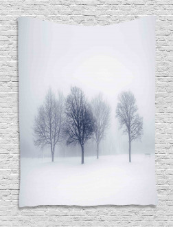 Winter Leafless Forest Tapestry