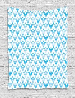 Geometric Shape Triangle Tapestry
