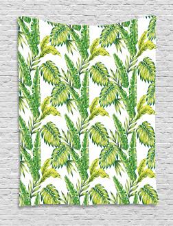 Bamboo Palms Foliage Tapestry