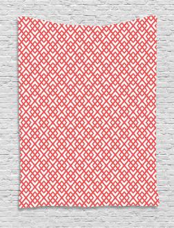 Horizontal Image with Diamond Tapestry