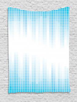 Geometric Squared Design Tapestry