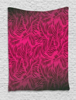 Hawaiian Island Palms Tapestry