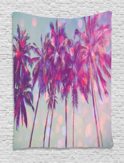 Hawaiian Tropic Palms Tapestry