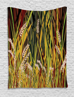 Plant Forest Farm Leaves Tapestry