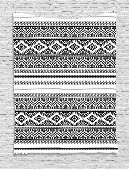 Oriental Tribal Moroccan Tapestry