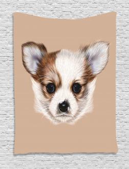 Cute Little Furry Friend Tapestry