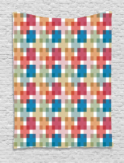Wall or Floor Squares Tapestry