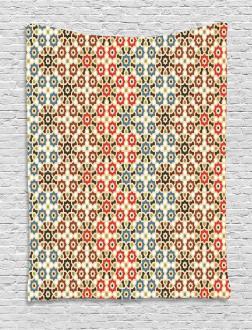 Ethnic Arabic Motifs Tapestry