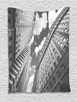 Sky in Manhattan Tapestry