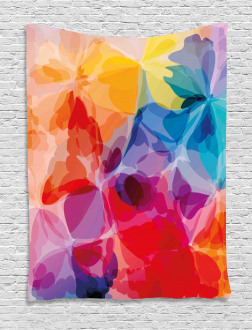 Abstract Creative Watercolor Tapestry