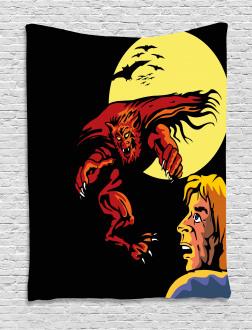 Super Heros Monsters Tapestry