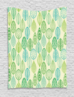 Leaves Forest Pattern Tapestry