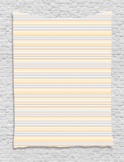 Shabby Colored Lines Tapestry