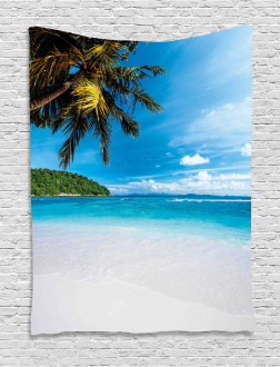 Exotic Island Beach Tapestry